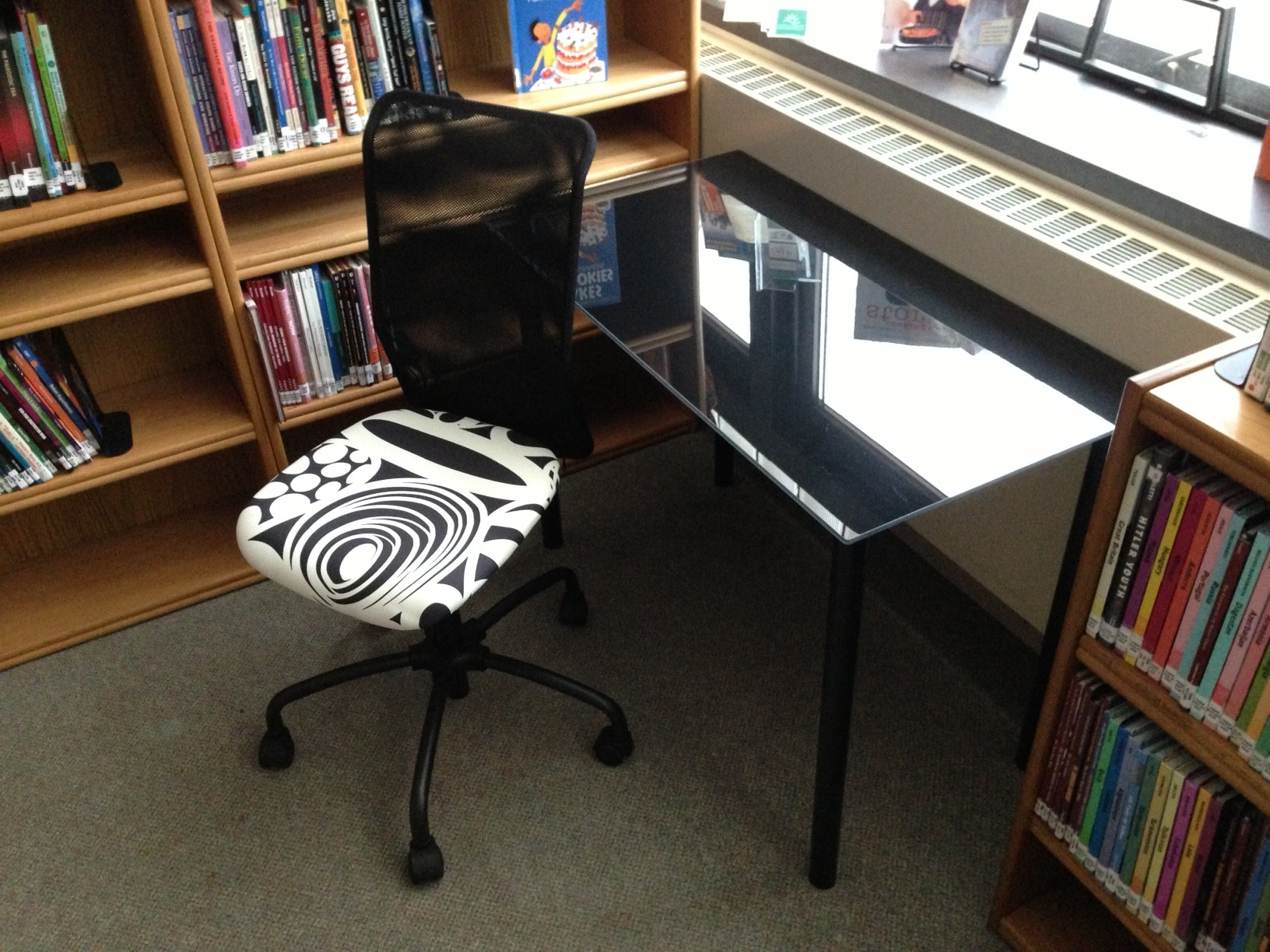 Shelton Library System » Branch Teen Furniture