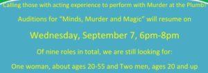 Murder Mystery audition slip2 August 2016